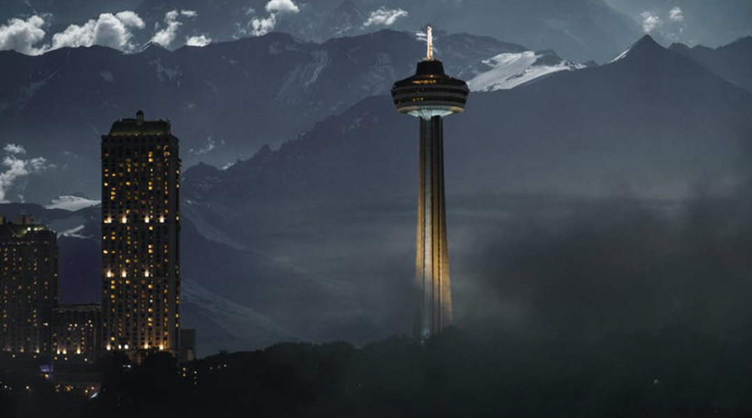 space needle in Seattle. U.S. Border to remain closed to Canadians